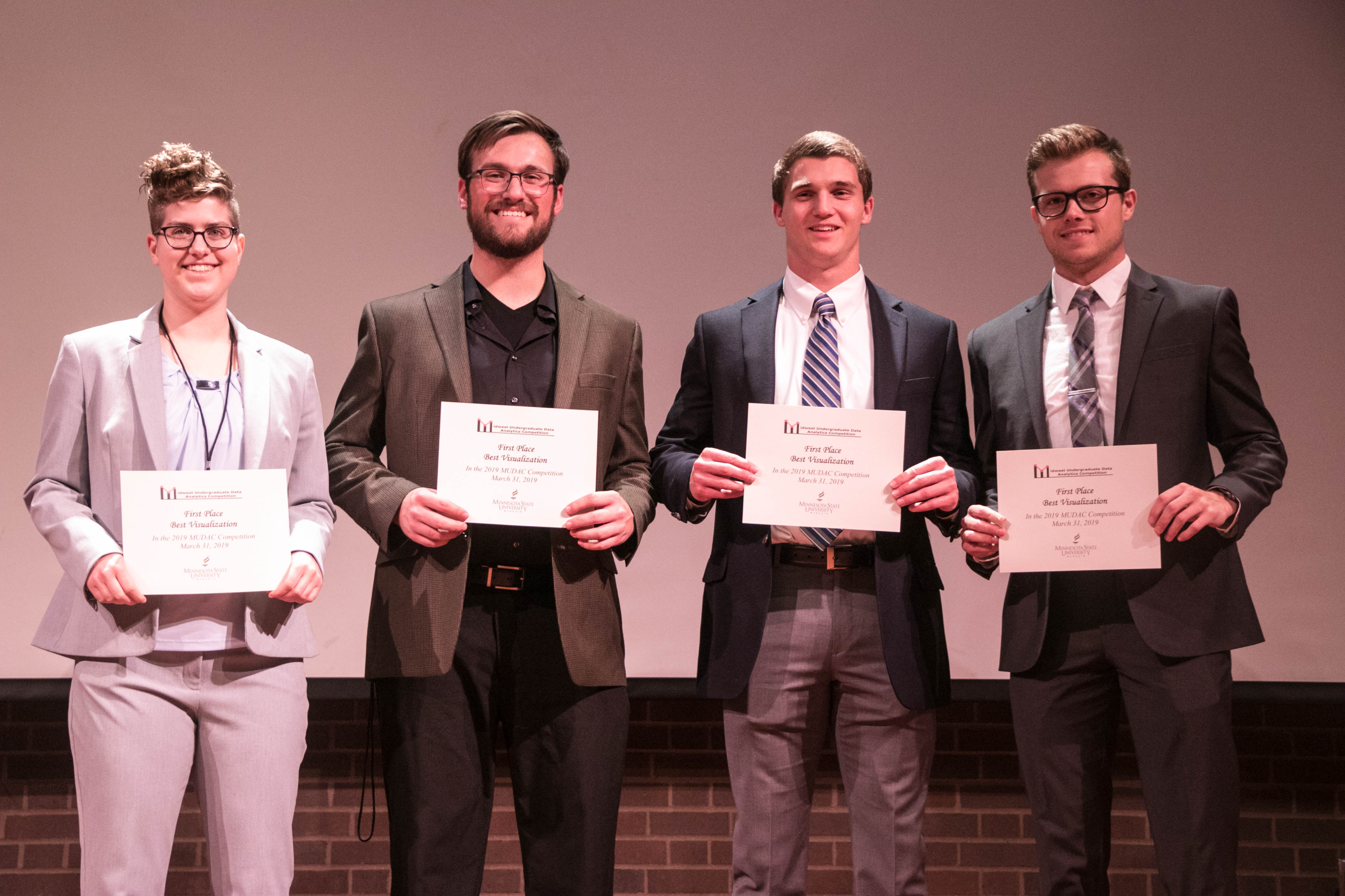 Midwest Undergraduate Data Analytics Competition (MUDAC 2019)